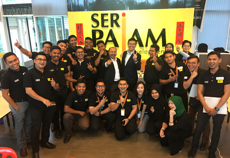 Seri Pajam Sales Training Mar 2018